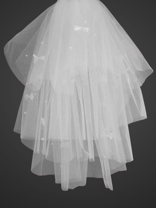 Elbow length Tulle Wedding Veil