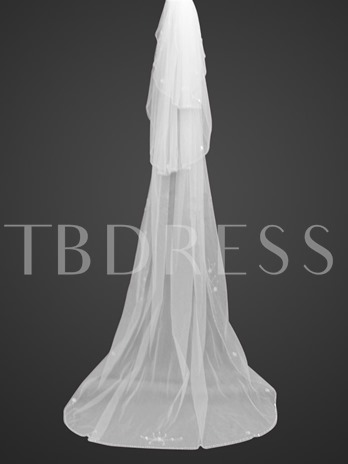 3-tiers Chapel Wedding Veil
