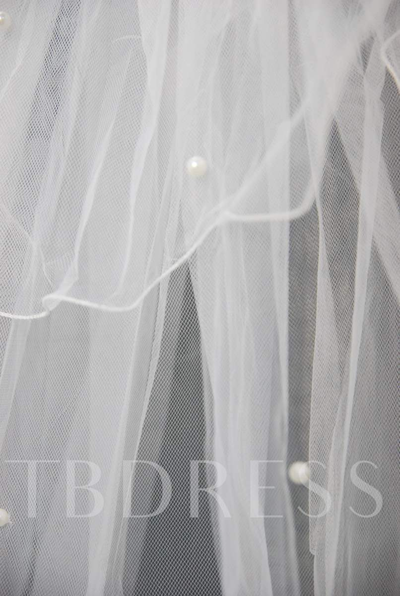 Floral Edge Wedding Bridal Veil IA40641