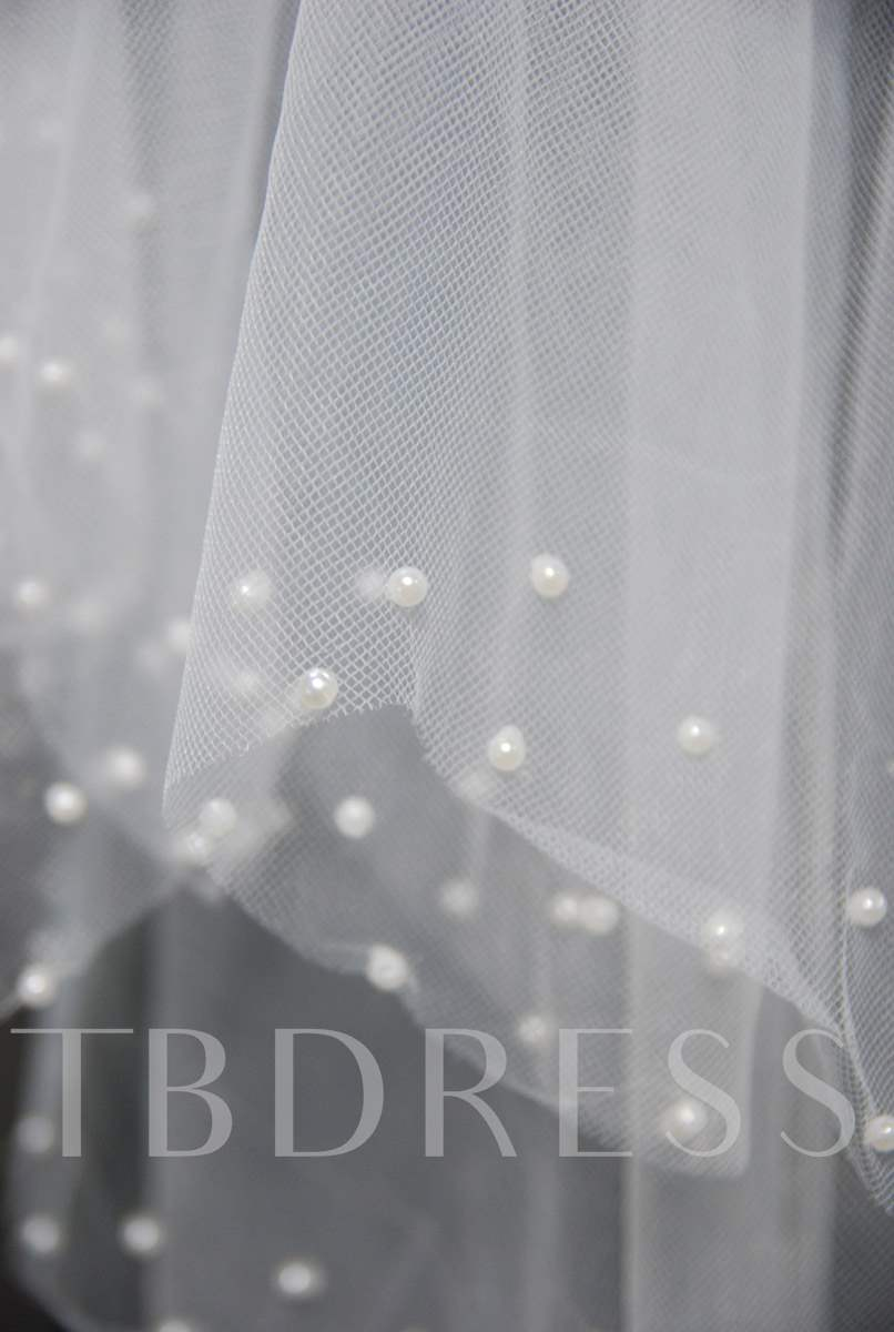 Floral Edge Wedding Bridal Veil EC26035