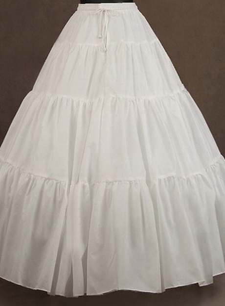 White Net Wedding Petticoat
