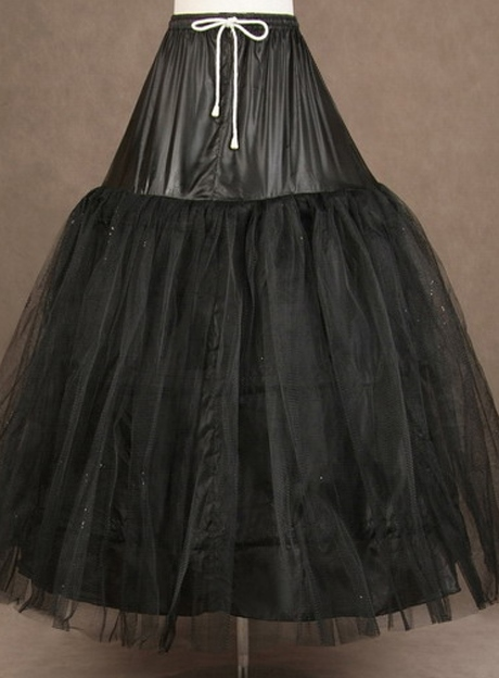 Black Tulle Wedding Petticoat