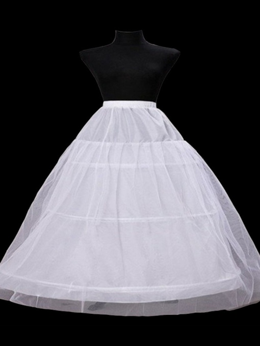 Plus Size Double Layers with Three Steel Rings Wedding Petticoats