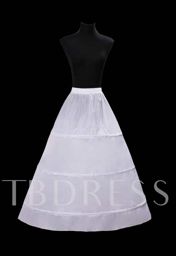 Economical Three Loops Wedding Petticoat-YC001
