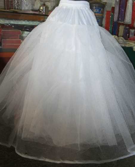 Organza Petticoat with No Steel Ring