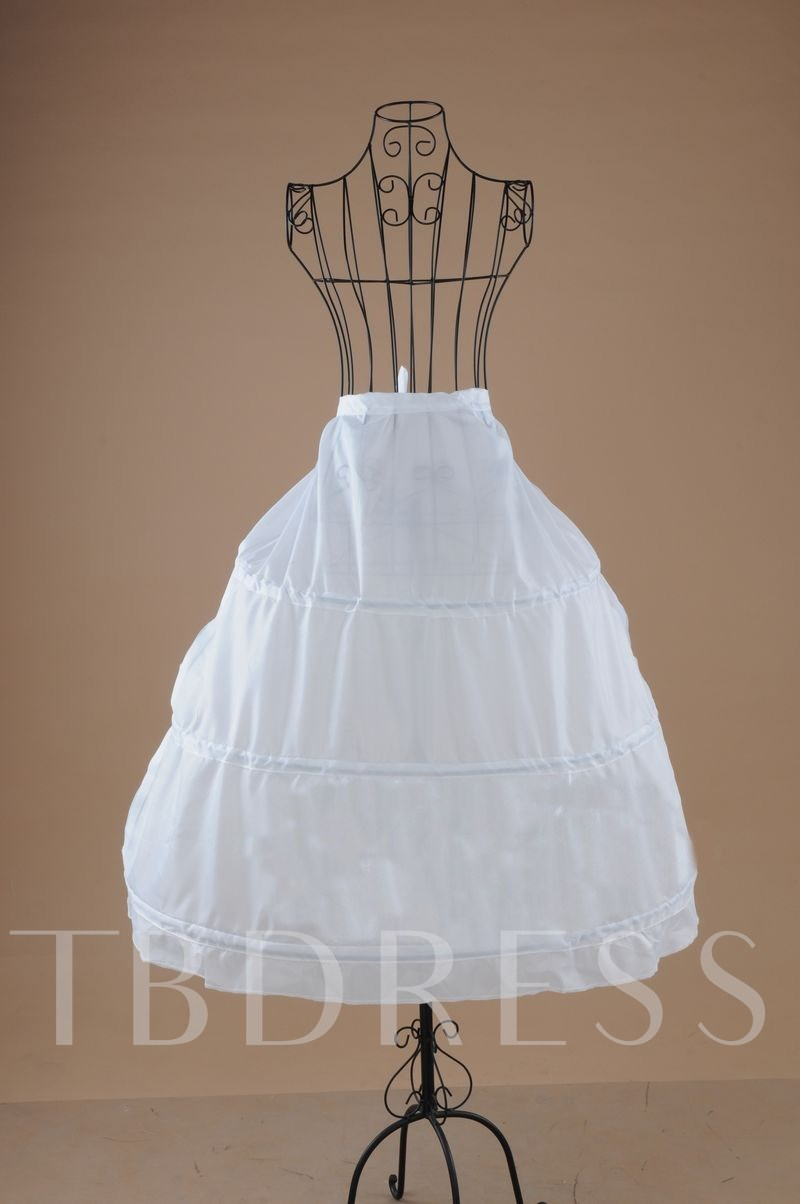 Three Steel Wires Gauze Wedding Petticoat