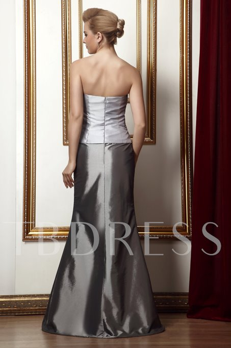 Beaded Trumpet Mother of the Bride Dress with Jacket