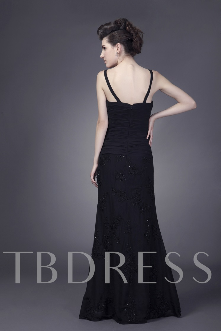 Spaghetti Straps Mother of the Bride Dress with Jacket
