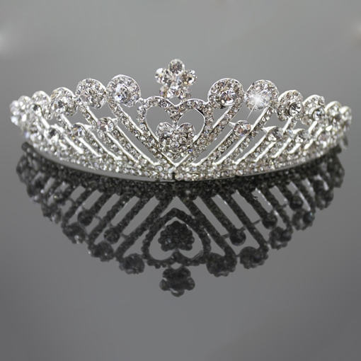 Clear Wedding Bridal Tiaras