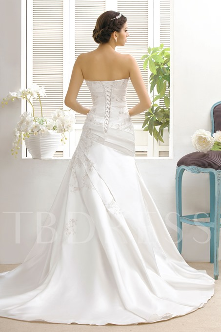 A-line/Princess Sweetheart Taline's Bridal Gown