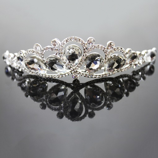 Alloy with Rhinestone Wedding Tiara