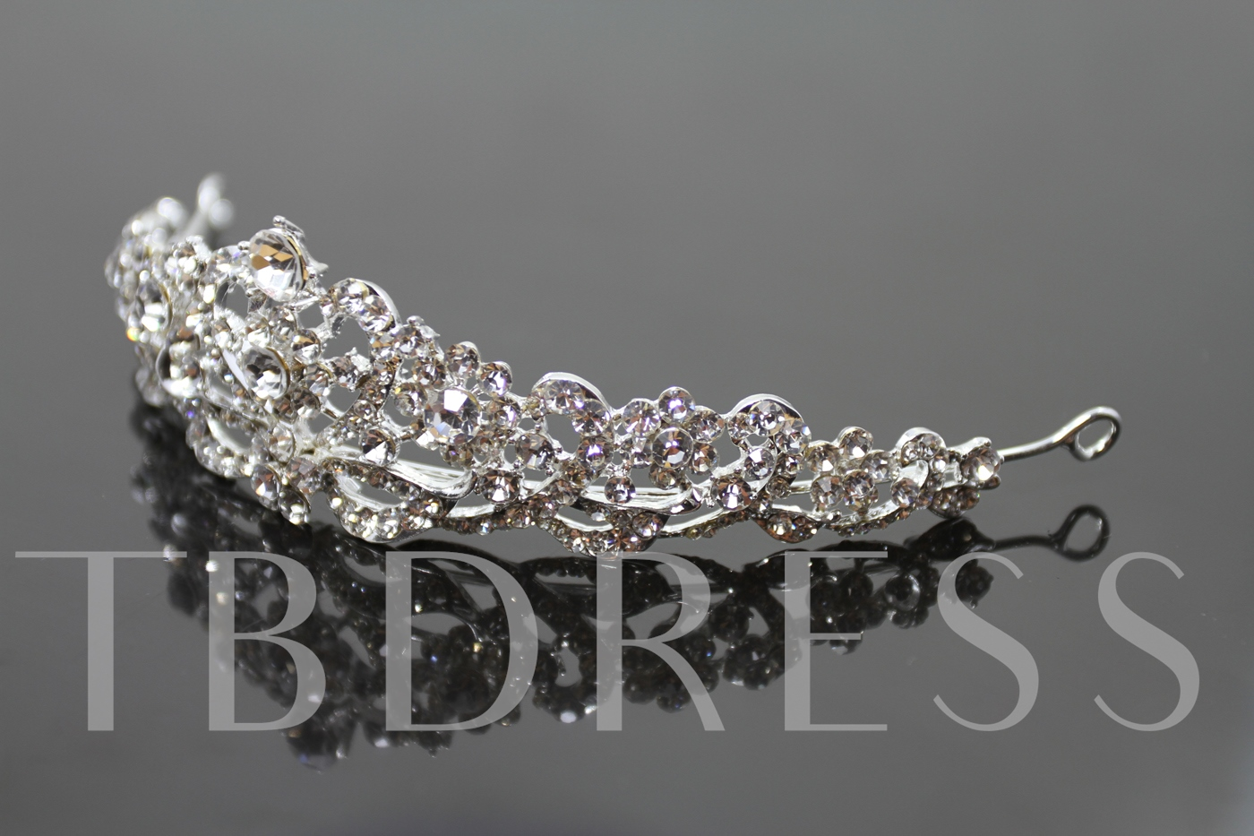 Style Alloy with Rhinestone Wedding Tiaras