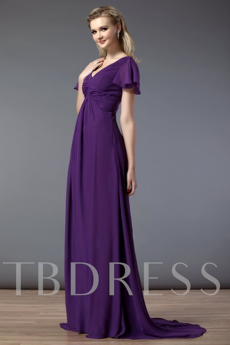 Empire Waist Plus Size Bridesmaid Dress