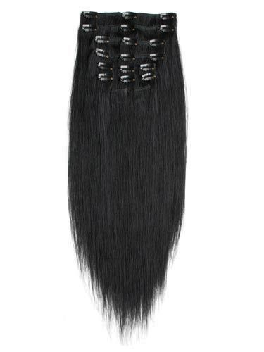 100% Human Straight Hair Clip in Hair Extension