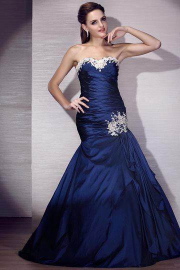 Mermaid Floor-Length Sweetheart Evening/Prom Dress
