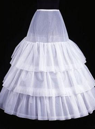 Elegent Three Layers Organza Wedding Petticoats