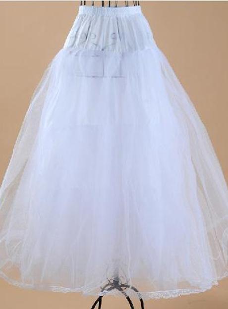 Long Gauze Wedding Petticoats