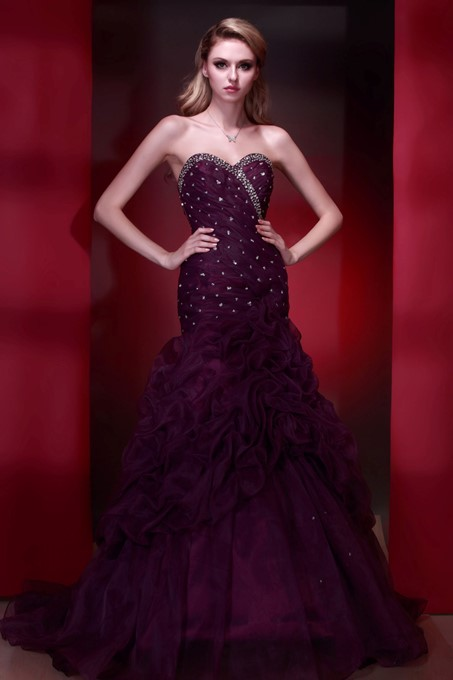 Mermaid Sweetheart Floor-length Dasha's Evening/Pageant Dress