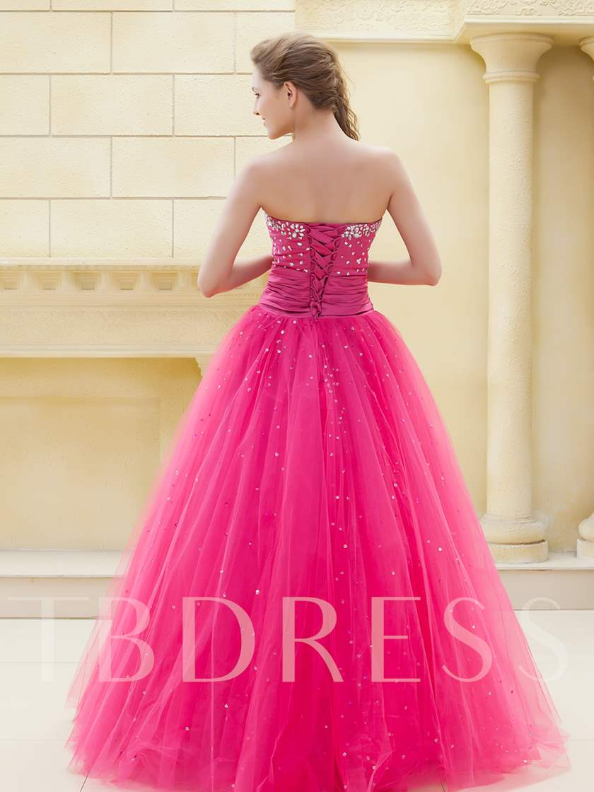 Sweetheart Beading Long Prom/Ball Gown Dress