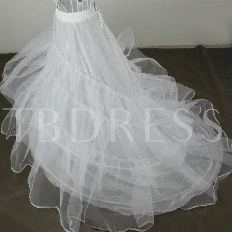 Three Layers Organza Floor Length Wedding Petticoats