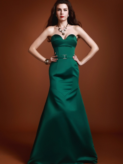 Mermaid Sweetheart floor-length Luba's Party Evening Dress