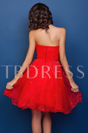 A-Line Mini Sweetheart Juliana's Prom/Homecoming Dress
