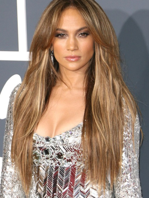 Celebrity Hairstyle 100% Human Hair Clip In Hair Extension Virgin Hair