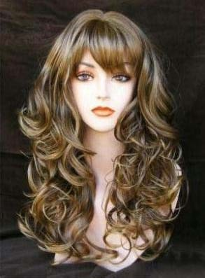 Capless Synthetic Hair 130% 22 Inches Wigs