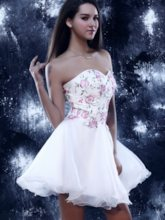A-Line Mini Sweetheart Sandra's Prom/Homecoming Dress