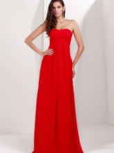 A-line Sweetheart Strapless Taline's Long Evening/Prom Dress