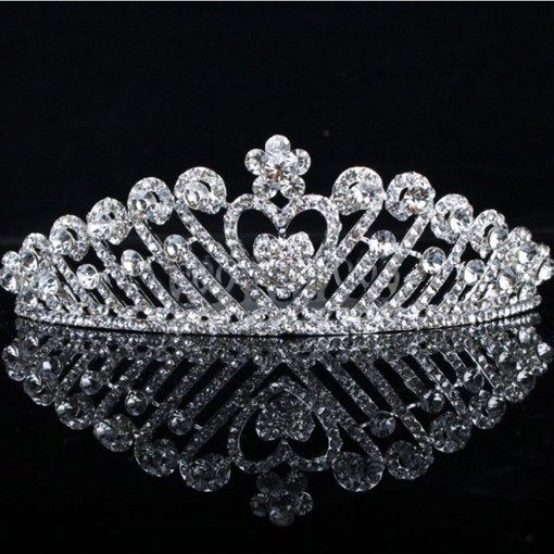 Alloy with Rhinestone Lady's Comb