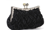 Lady's Satin Rhinestones Handbag for Wedding/Evening(7colors)