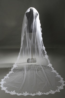 Cathedral Style Lace Wedding Veil Cathedral Style Lace Wedding Veil