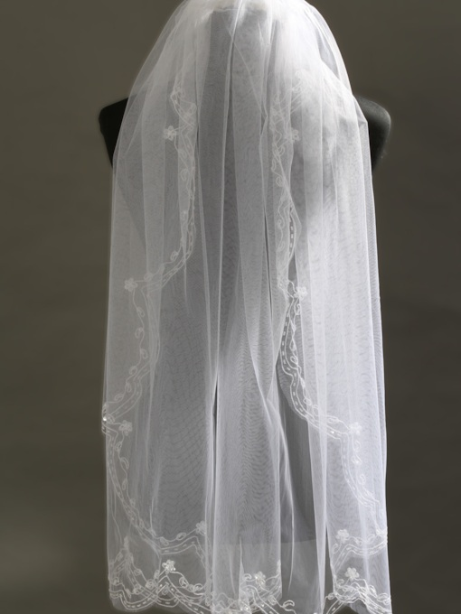 Fingertip Wedding Veils