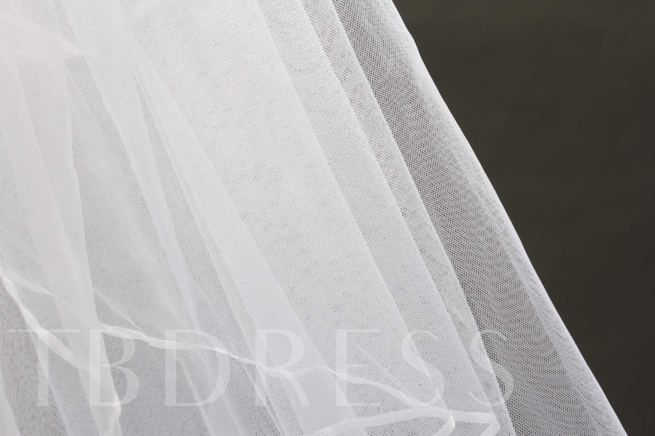 2 Layer Elbow Tull Wedding Bridal Veil