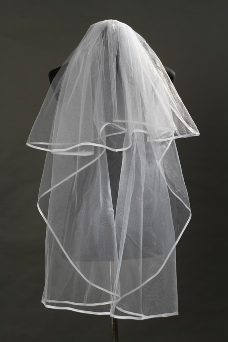 Elbow Tulle Wedding Bridal Veil
