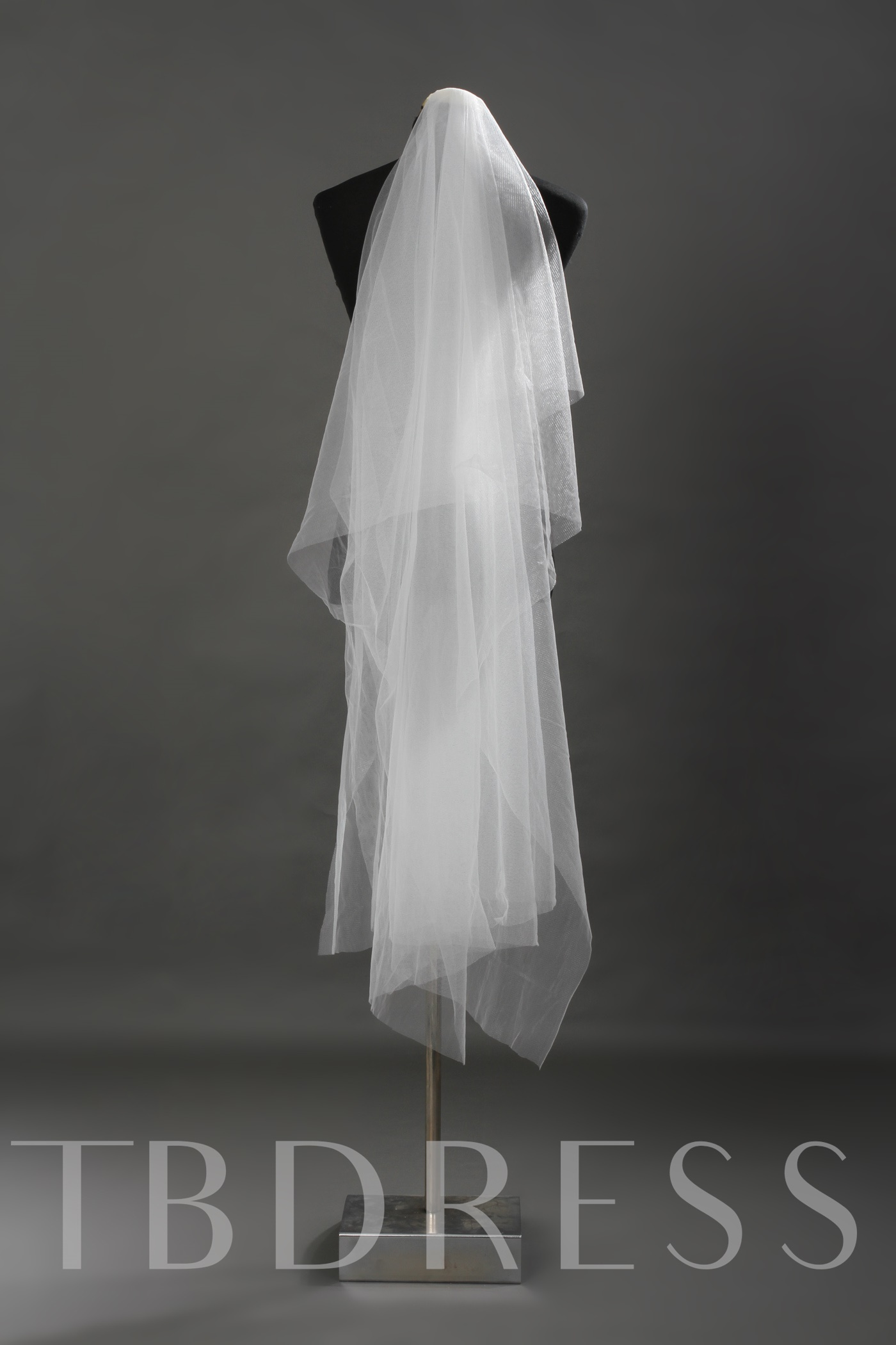 White Tull Wedding Bridal Veil