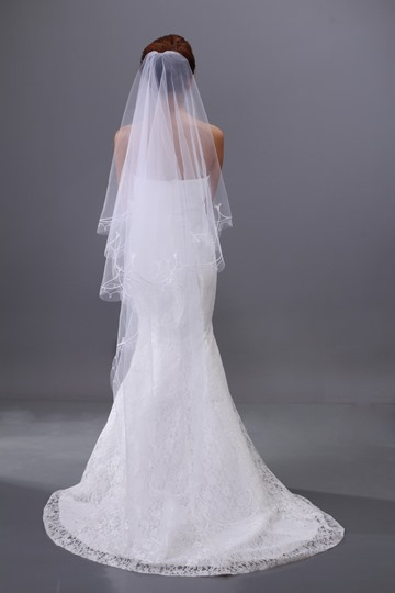 Chapel Length Wedding Veil