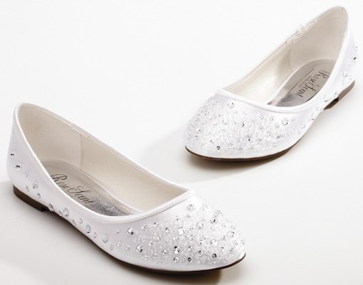 Wedding/Party Beading Flat Shoes