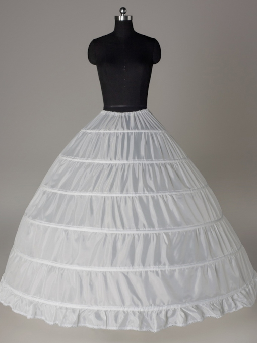 Ball Gown Six Steel Rings Wedding Petticoat