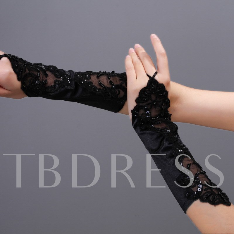 Fingerless Lace Wedding Bridal Glove