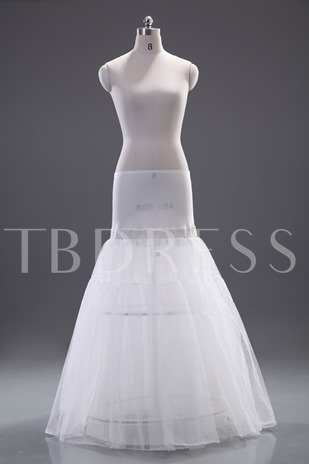 Two Layers Dropped Waistline Wedding Petticoat
