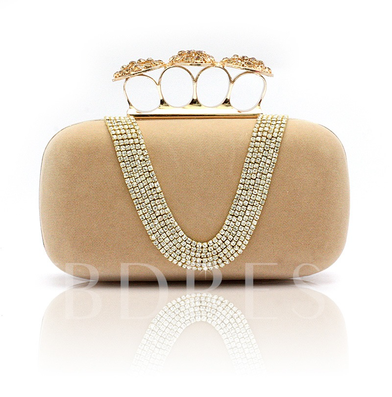 Satin Lady's Evening Party Clutch