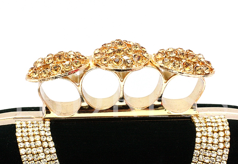 Satin Lady's Evening Party Clutches