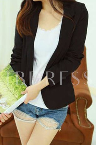 Candy Color Long Sleeves Blazer