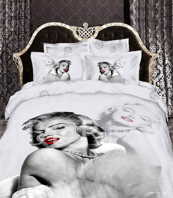 Beauty Sexy 4-Piece 3D Bedding Sets/Duvet Covers