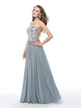 Sweetheart Beading Sequins Prom Dress