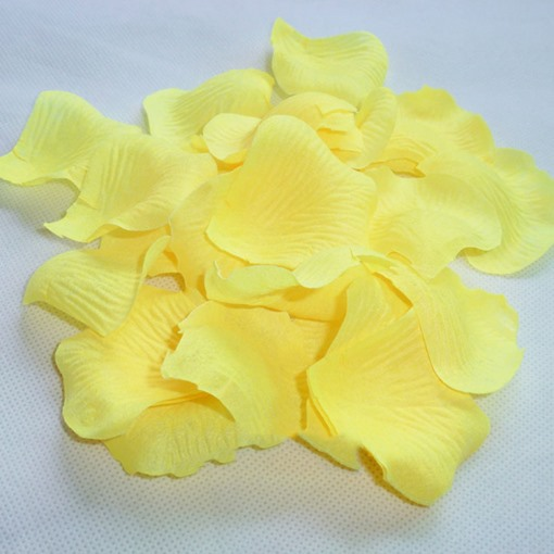 wedding Yellow Rose Petals