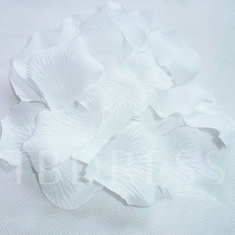 wedding White Rose Petals