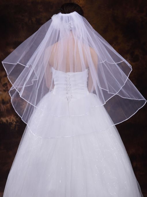 Wedding Veil With Ribbon
